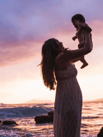 baby-sunset