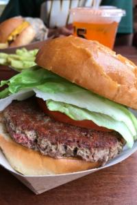 The Impossible Vegan Burger