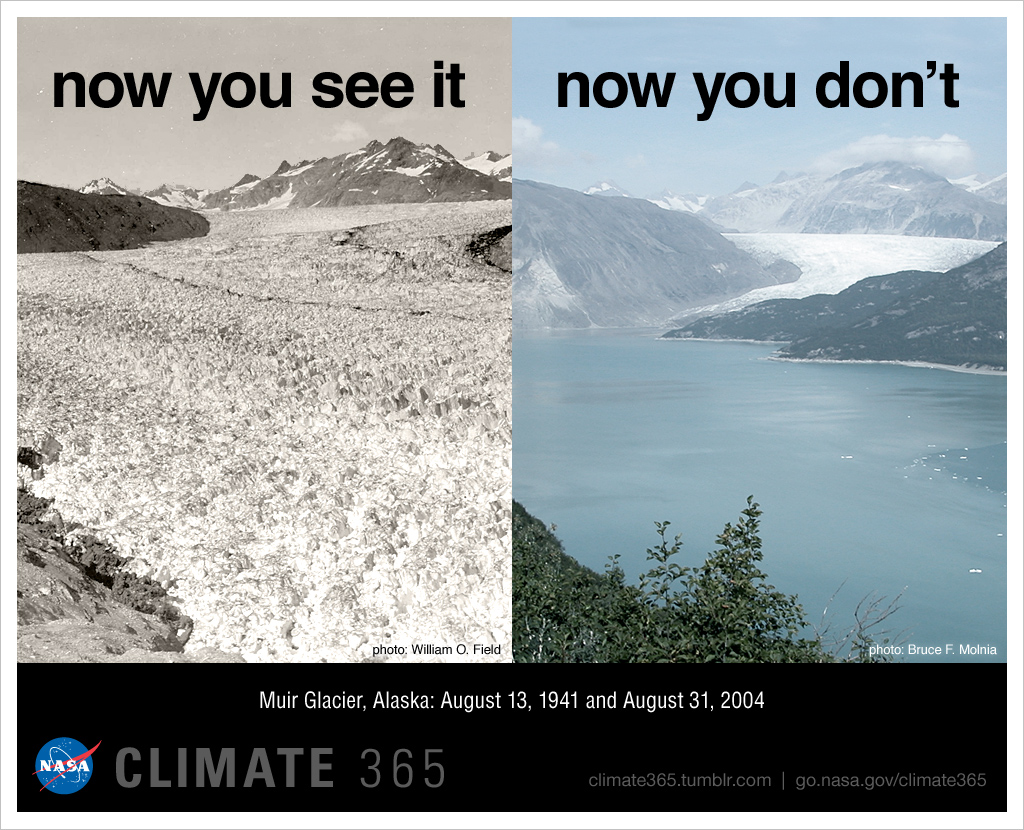 Nasa Melting Glacier