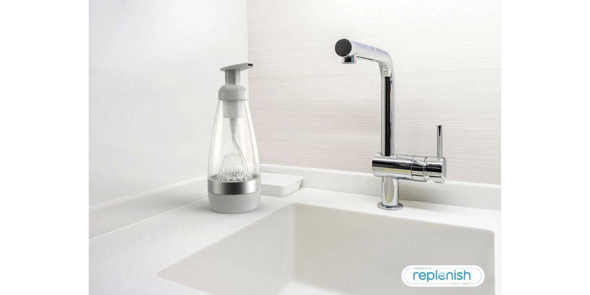 replenish hand soap