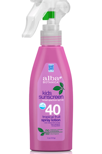 Alba sunscreen spray
