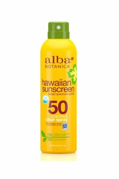 Alba Spray on Sunscreen
