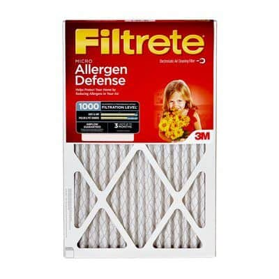 Filtrete home air filter replacement