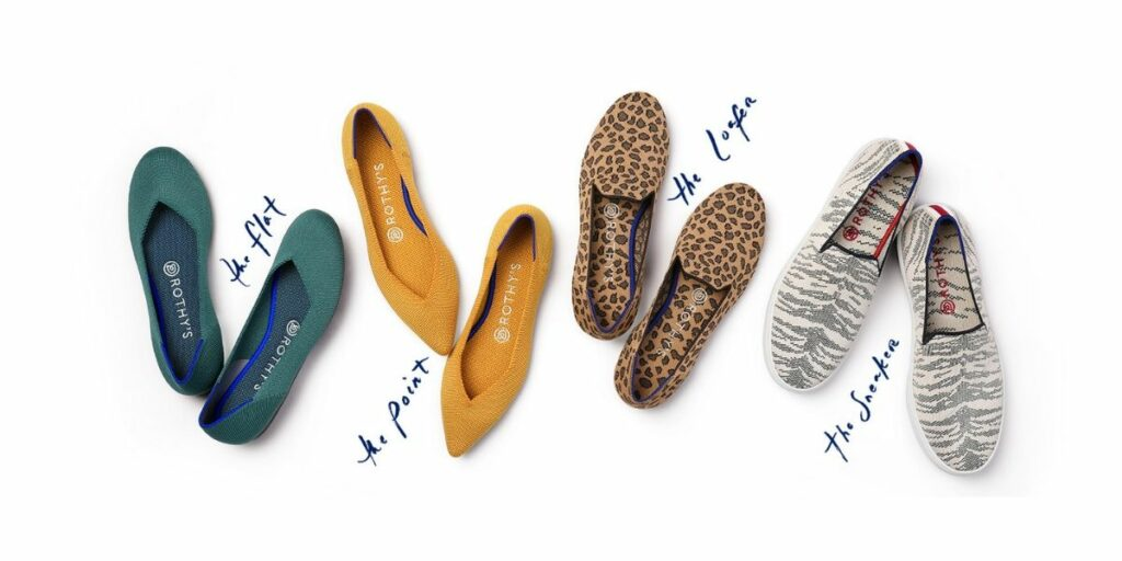 Rothys recycled plastic shoes