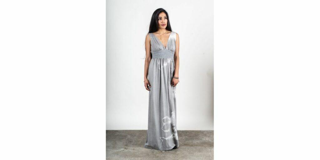 zero waste dress by tonle