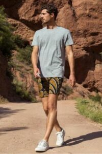 Outerknown sustainable men's swim trunks