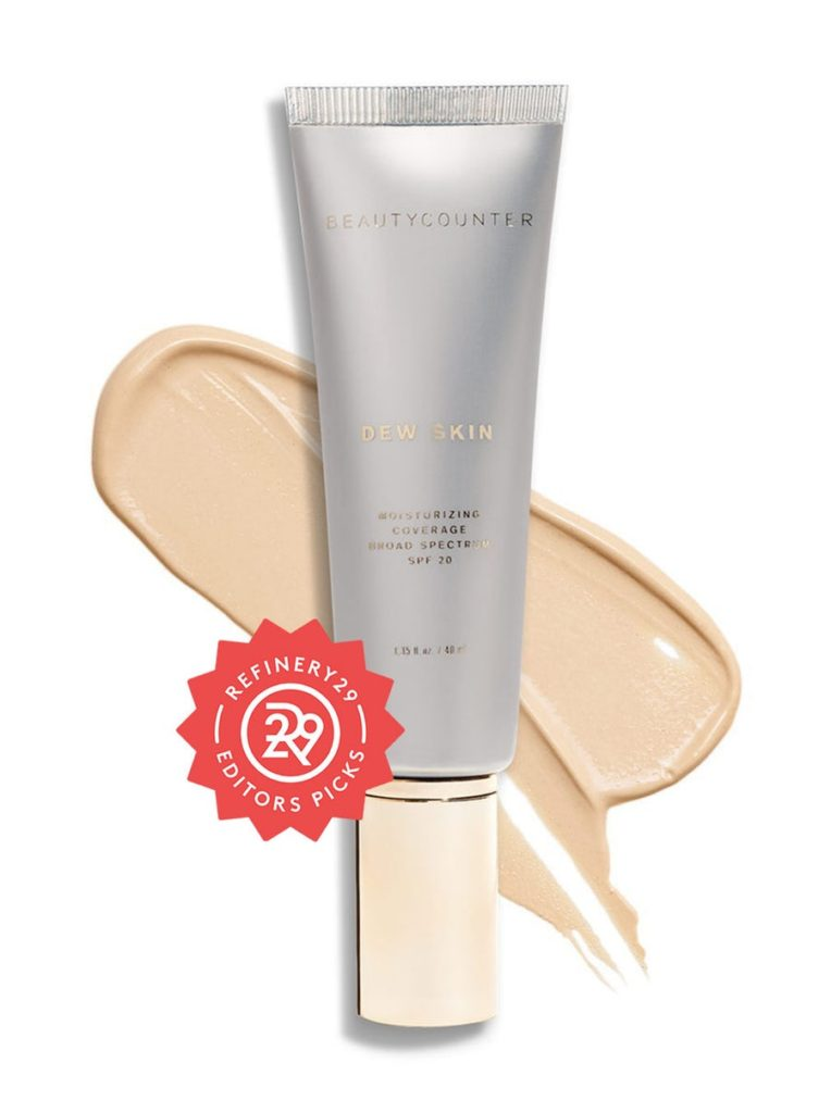 beauty counter dew skin tinted moisturizer