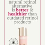 "CounterTime tripeptide radiance serum with text that reads ""why this natural retinol alternative is better & healthier than outdated retinol products"