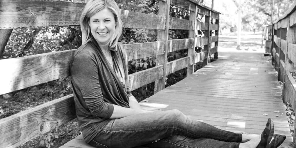 Rebecca B Kimber on bridge