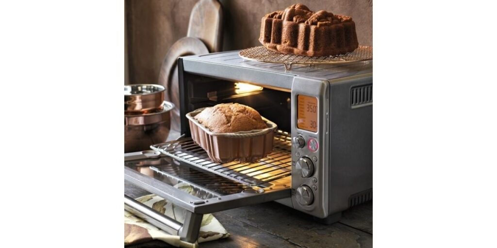 Smart oven with fresh made banana bread