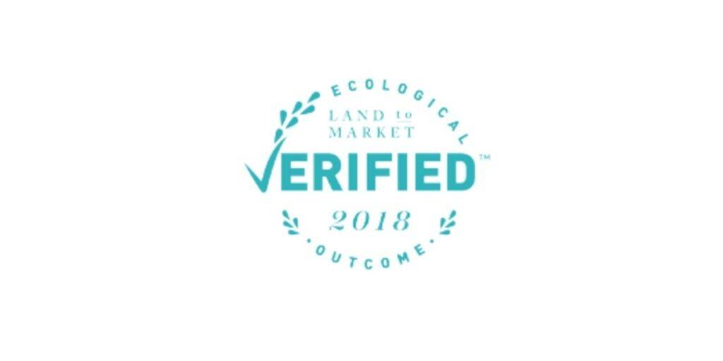 Ecological Outcome Verified through Land to Market™ seal