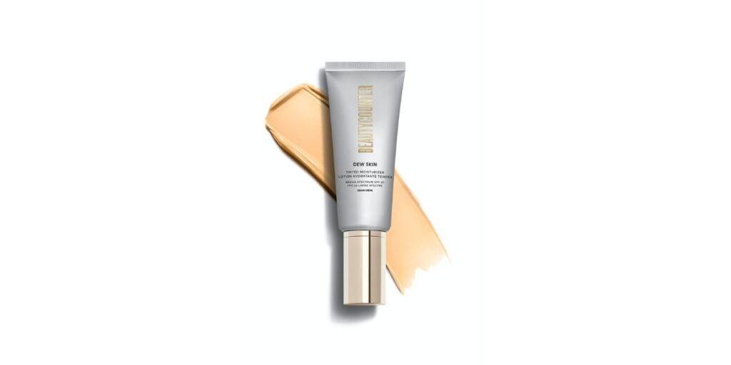 Beautycounter tinted moisturizer with 20 SPF sunscreen