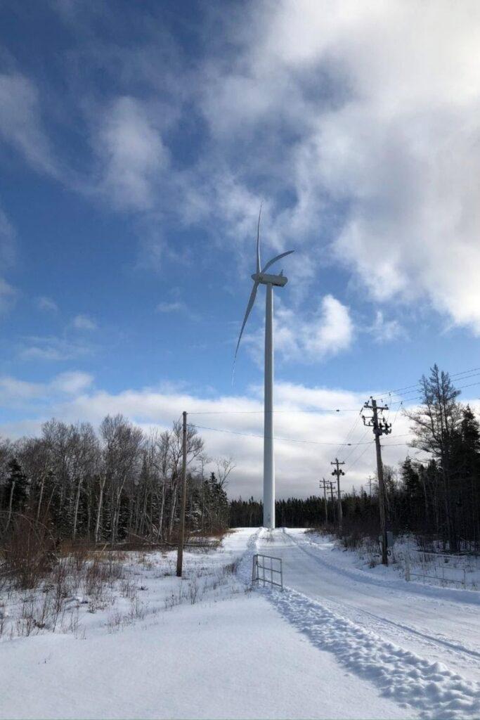 Wind Farm in Nova Scotia