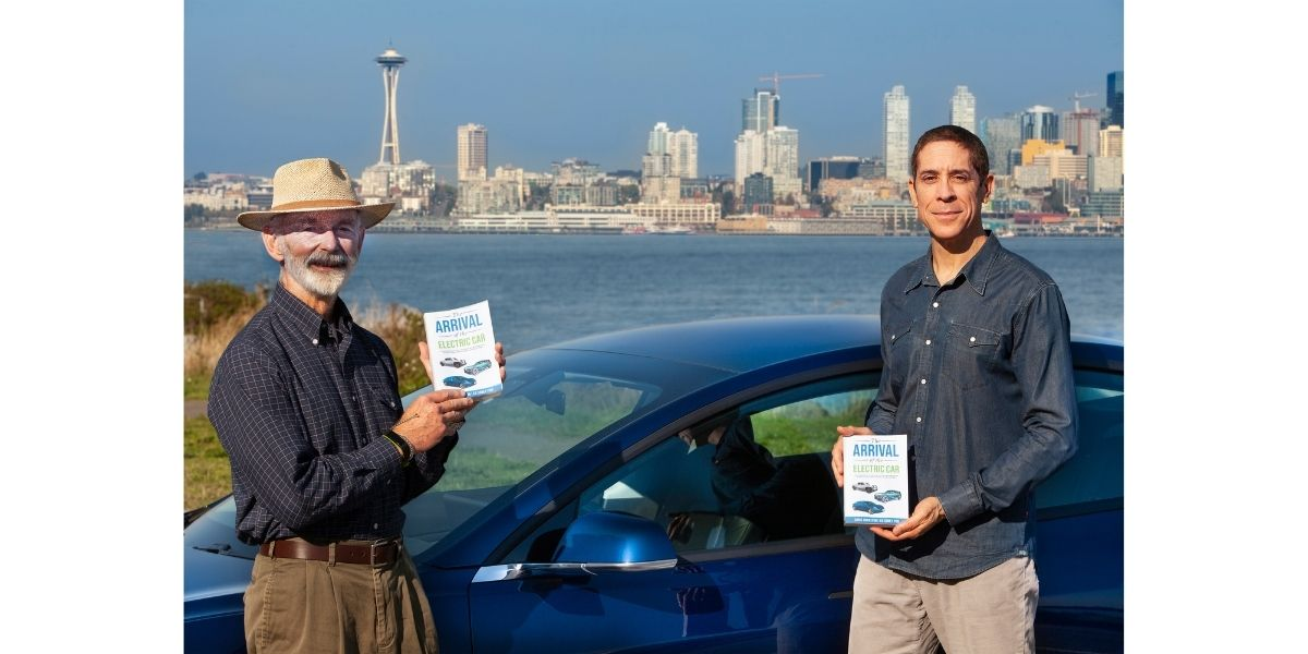 Chris Johnston and Ed Sobey, the authors of The Arrival of the Electric Car.