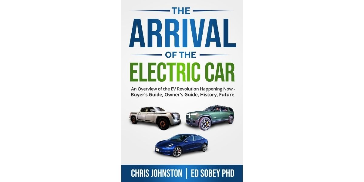 The Arrival of the Electric Car book cover.