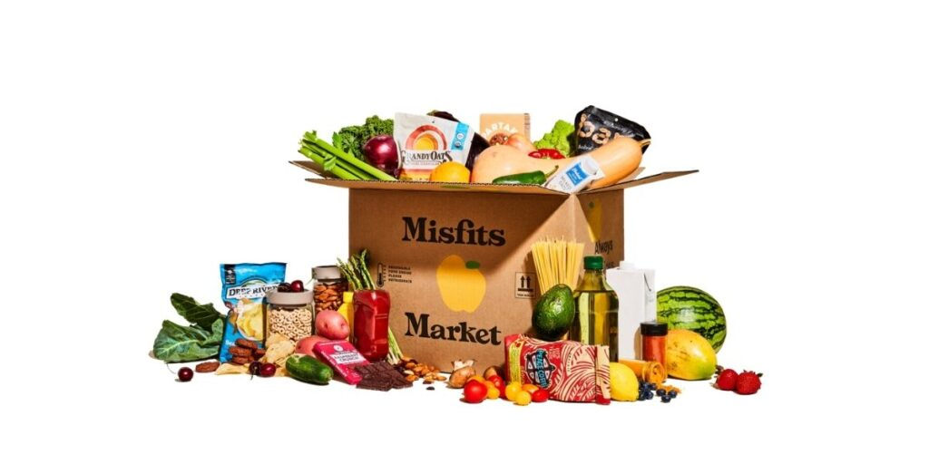 Misfits Market box with groceries