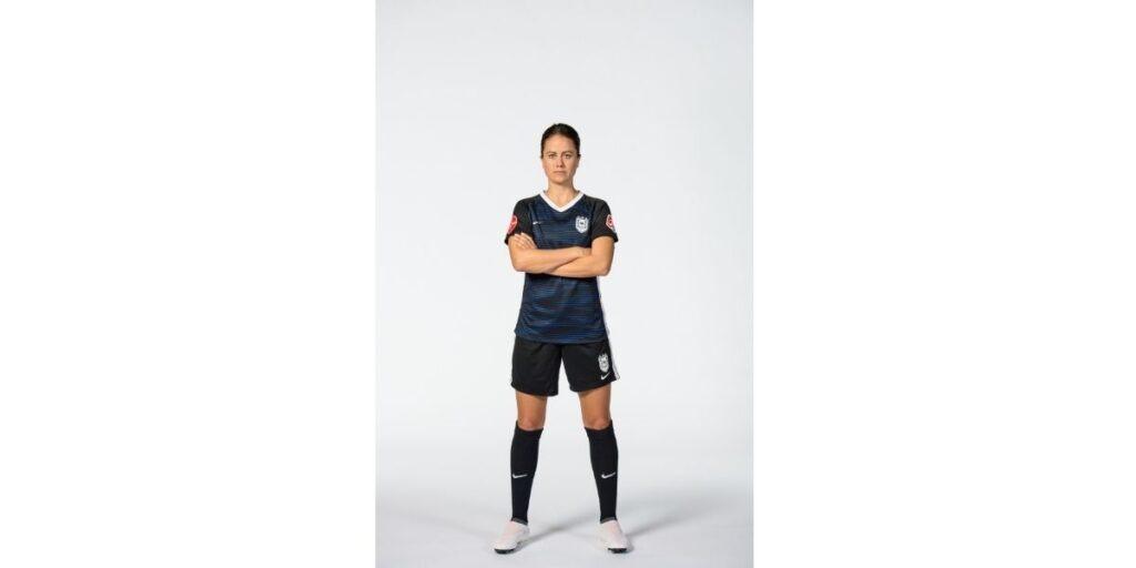 National Women's Soccer League champion Lauren Barnes