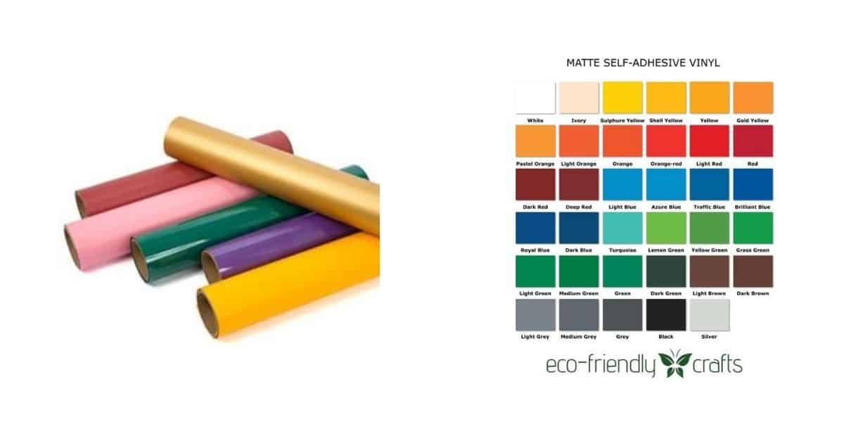PVC free vinyl and colors
