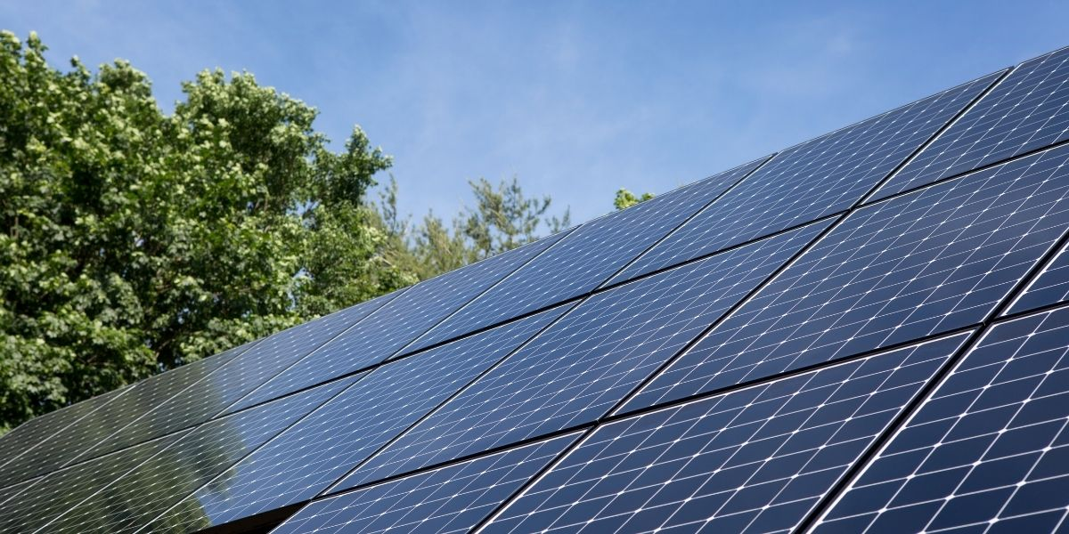 SunPower residential solar panels installed on rooftop in New Jersey.