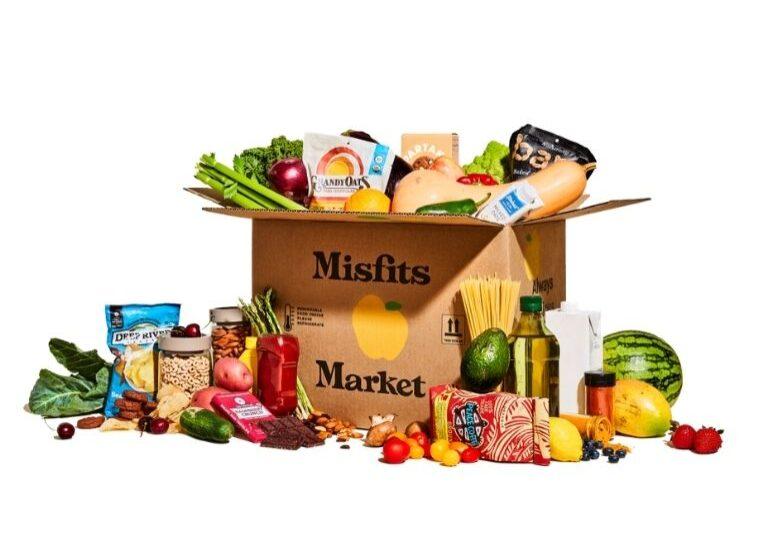 misfits market box with logo